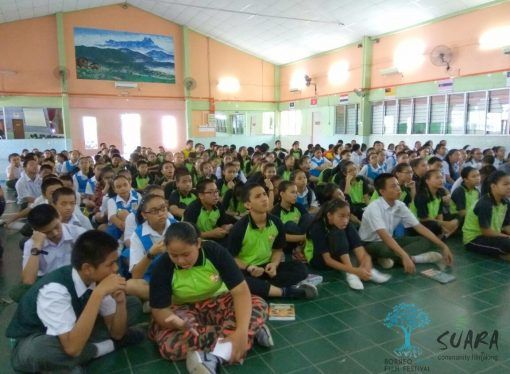 #BEFF visits St Michael School in Penampang for Youth Outreach Programme